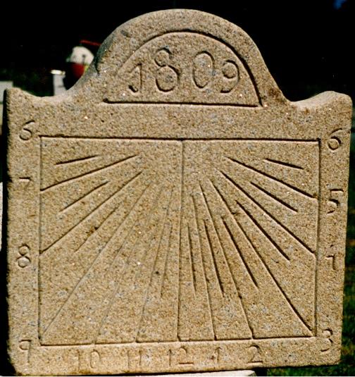 12 - Reloj de sol vertical - piedra granito