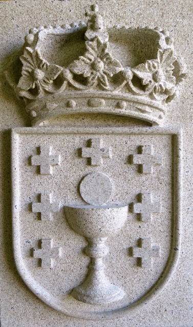 17 - Escudo de Galicia - piedra granito