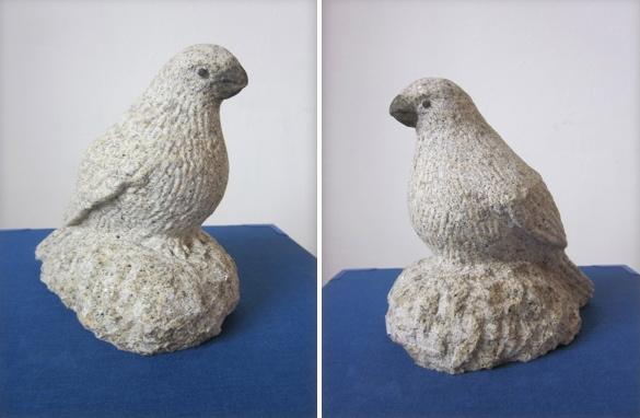 17 - Camachuelo - piedra granito - 14x14x9cm aprox - Precio 60,00 €