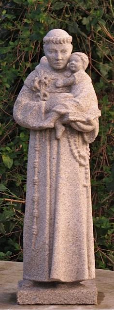 23 - San Antonio - piedra granito - 60cm alt.