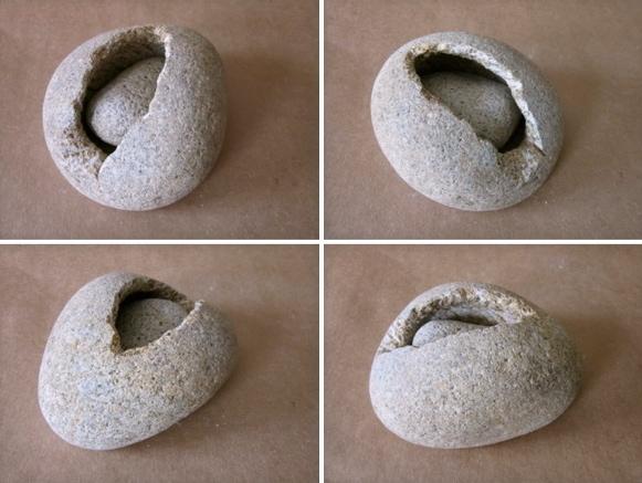 20 - Dentro - piedra granito - 16x13x8cm - Precio 60,00 €