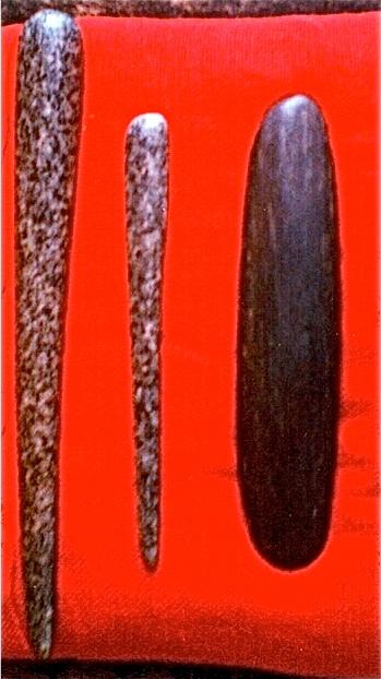 24 - Herramientas neolíticas - piedra