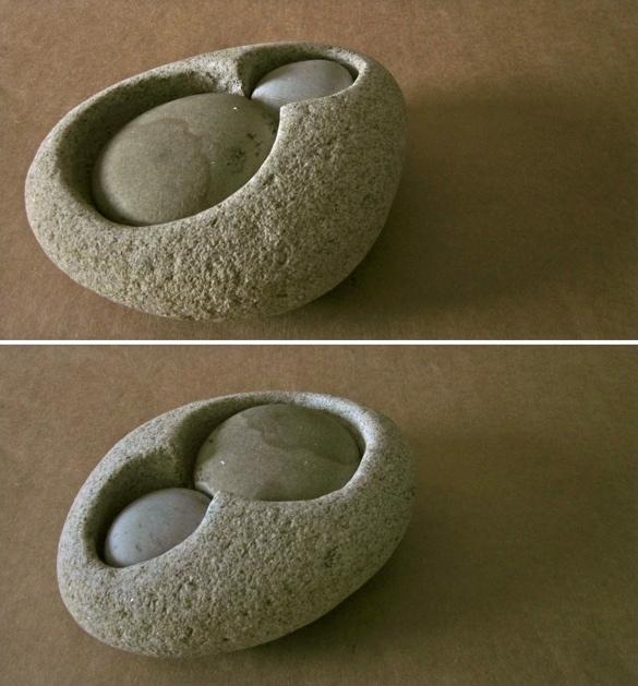 21 - Cómodas - piedra granito - 20x16x8cm aprox - Precio 40,00 €