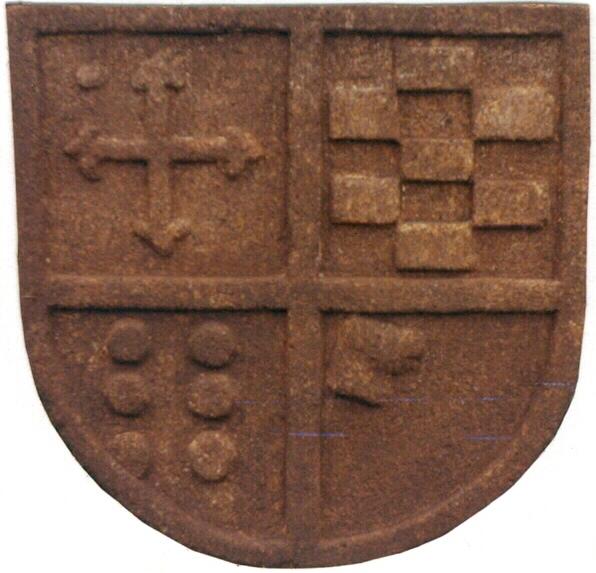 25 - Escudo Bugallal - Pazo Piñeiro, Salceda de Caselas - piedra granito