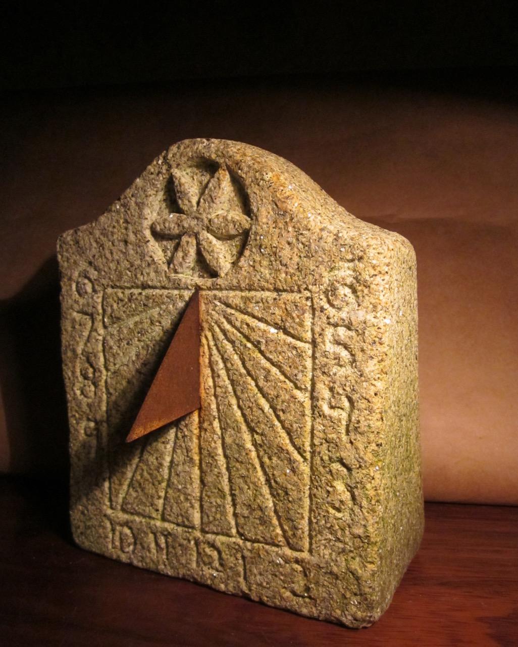 30 - Reloj de Sol vertical - granito