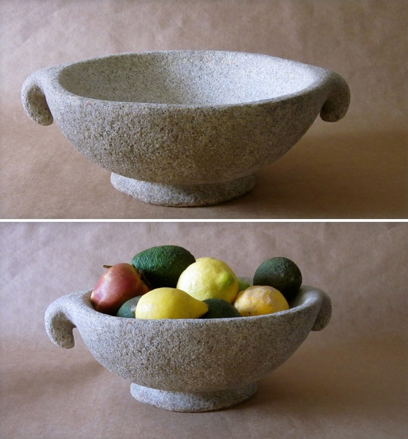 25 - Frutero - piedra granito - 40x32x15cm aprox -Precio 150,00 €