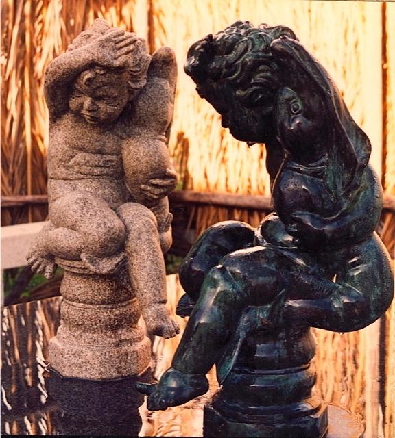 32 - Copia en granito de un bronce aportado por el cliente