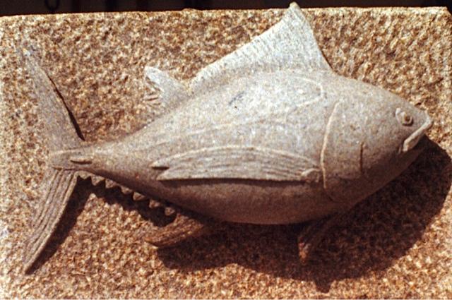 33 - Pescado - piedra granito