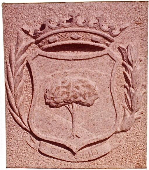 34 - Escudo Cercedilla - piedra granito