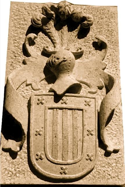 36 - Escudo Contreras- piedra granito