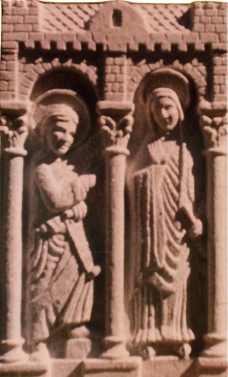 37 - Relieve Románico - piedra granito