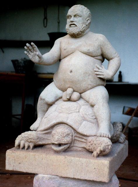 38-Réplica-del-grottesco-nano-Morgante-de-los-jardines-de-Boboli¦ü-Florencia-en-el-taller-piedra-granito