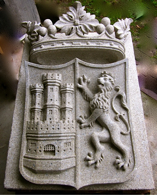 40 - Escudo Marqués de Villahermosa - Piedra granito