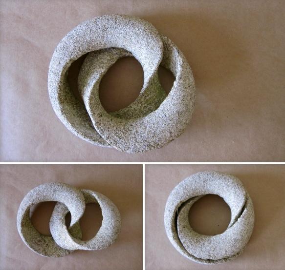 47- Homenaje a Keizo Ushio - piedra granito - 25x25x8cm aprox