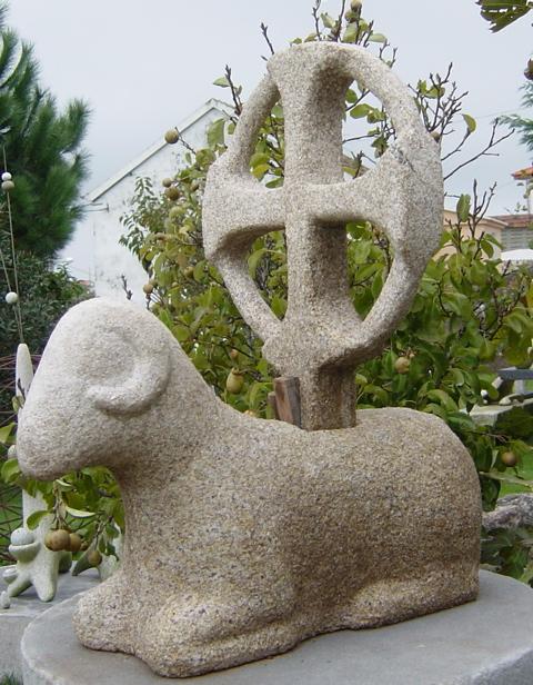 5 - Agnus Dei - piedra granito